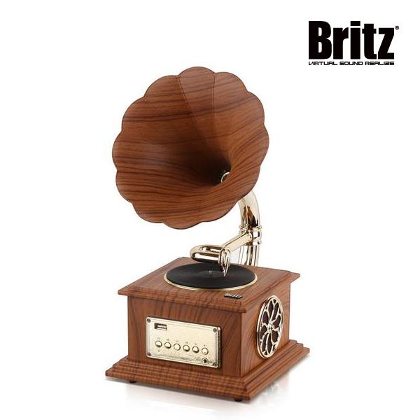 [Britz] 브리츠 앤티크 디자인 블루투스 스피커_BZ-S2018 우드