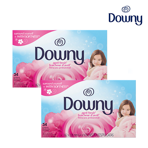 [Downy] 다우니 드라이시트 34매*2개 Downy34*2