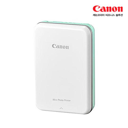 [Canon] 캐논 포토프린터 인스픽 PV-123(민트)★기본인화지10장+스마트시트지10장 포함