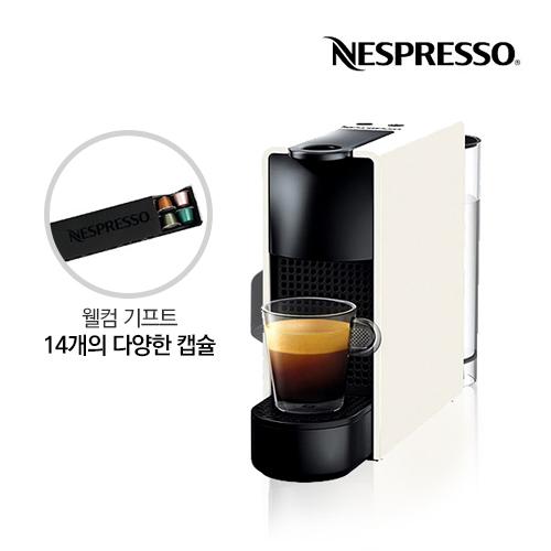 [Nespresso] 네스프레소 캡슐커피머신 에센자 미니 C30 화이트