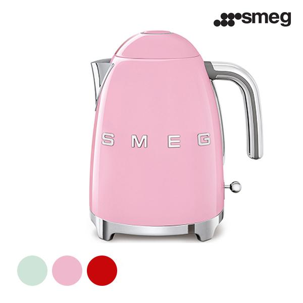 [smeg] 스메그 전기 무선주전자 KLF03 파스텔그린,핑크,레드 ★ 색상 선택 필수