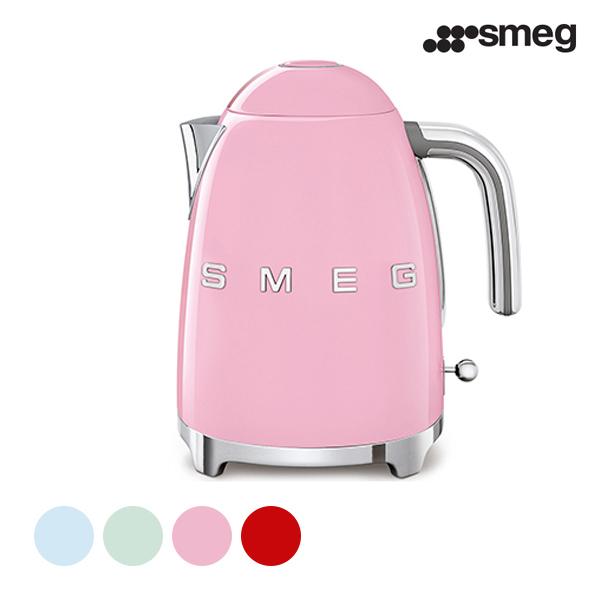 [smeg] 스메그 전기 무선주전자 KLF03 핑크, 파스텔그린, 파스텔 블루 , 레드 ★ 색상 선택 필수