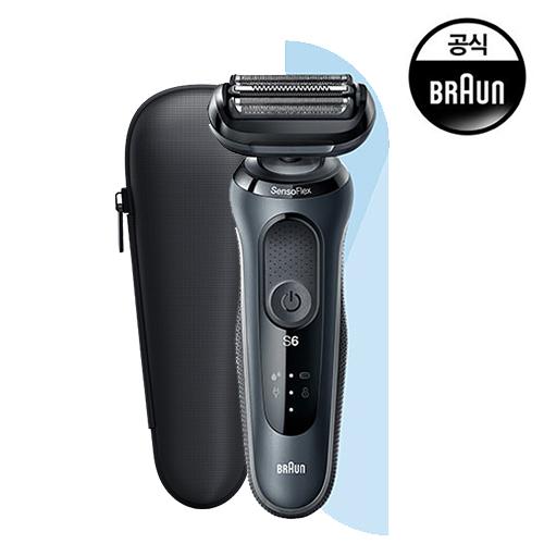 [BRAUN] 브라운 Series 6 전기면도기_60-N1000s_블랙 에디션