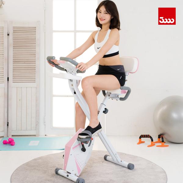 [Samchuly] 삼천리 에스라인 TM 헬스바이크 반조립자전거 핑크