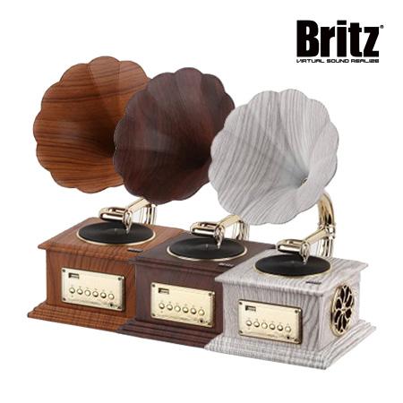 [Britz] 브리츠 앤티크 디자인 블루투스 스피커 BZ-S2018 우드,다크체리,화이트 ★색상선택 필수