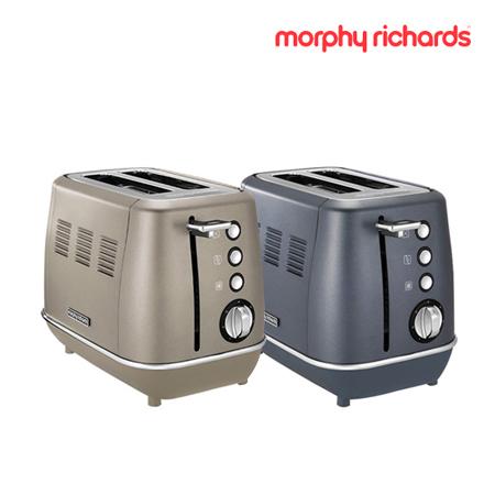 [morphy richards] 모피리처드 Evoke 토스터기 2구 플래티늄, 블루스틸★색상 선택 필수