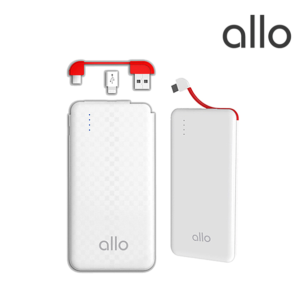 [allo] 알로 카드형 초슬림 보조배터리(5000mAh)_allo 007 (5000)